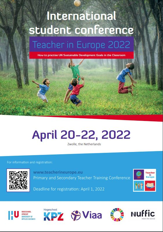 TIE 2022 poster How to practise UN Sustainable development goals in the classroom